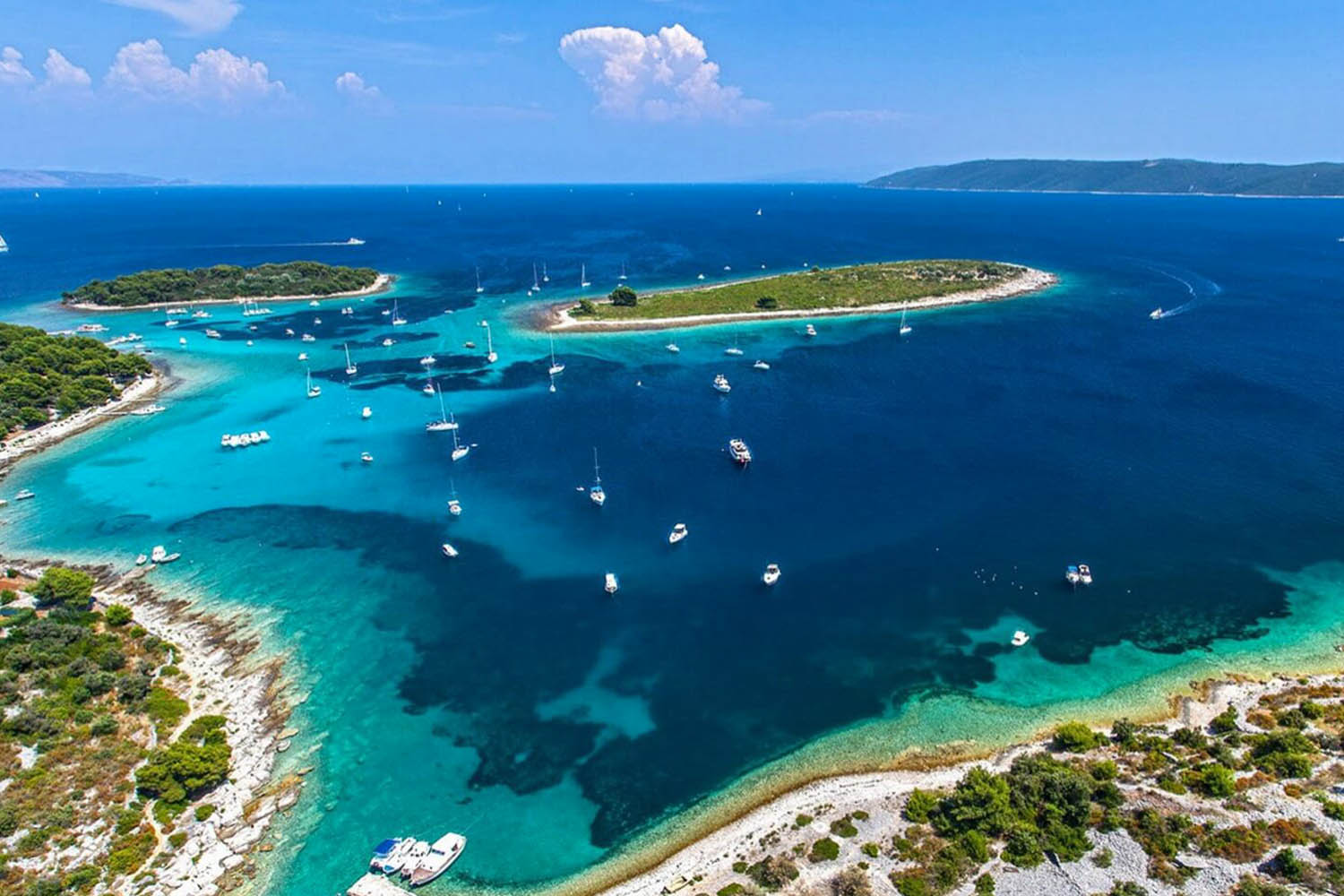 One Day Escape boat tour to National Park Kornati